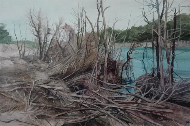 , 'Savage Pond VI Study,' 2018, Nanda\Hobbs