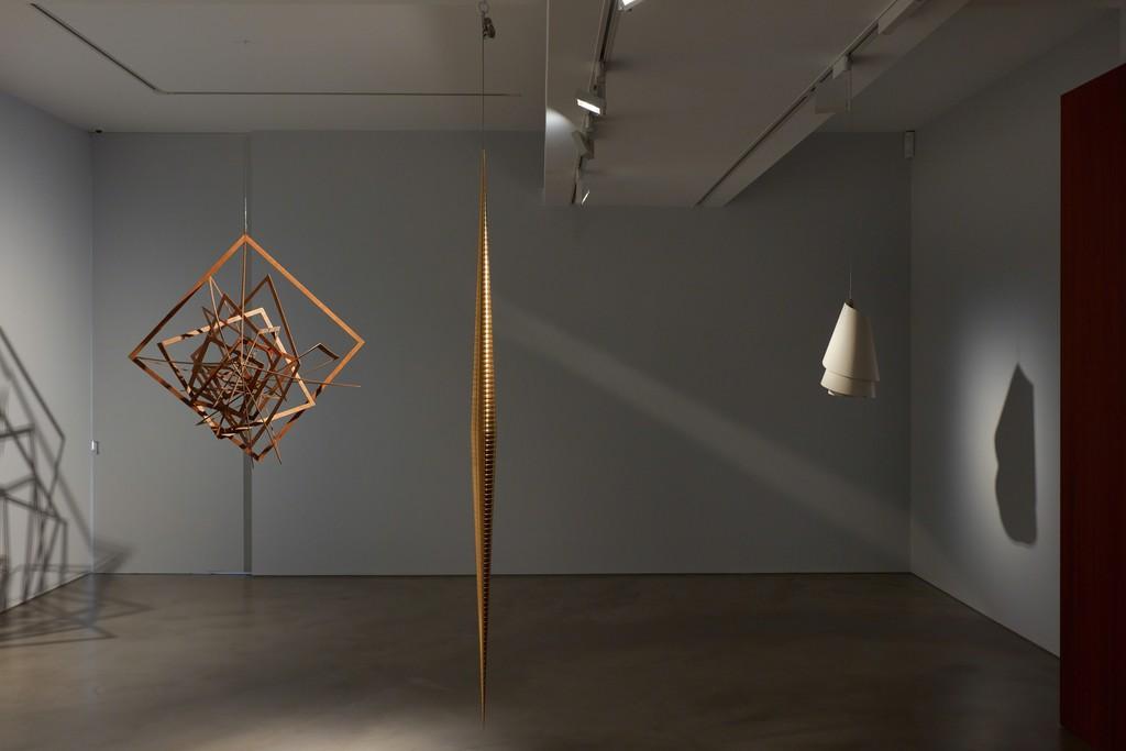 Suspension, Installation view at Olivier Malingue, October 2018. Photo: Luke A. Walker for Olivier Malingue Ltd.