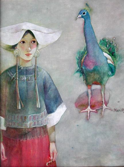 Xue Mo 薛墨, 'Yi Girl III', 2000, Tao Water Art Gallery