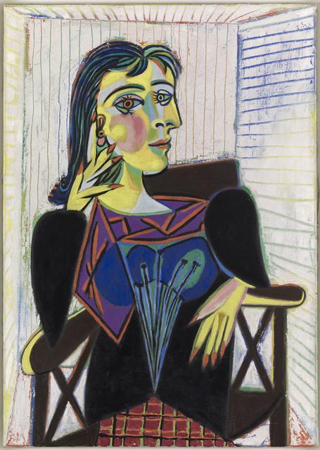 , 'Portrait de Dora Maar (Portrait of Dora Maar),' 1937, Musée Picasso Paris