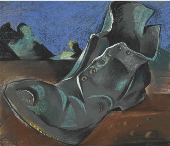 , 'Boot in an Estuary,' 1944, Osborne Samuel