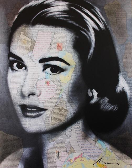 , 'Grace Kelly,' 2017, Galerie de Bellefeuille