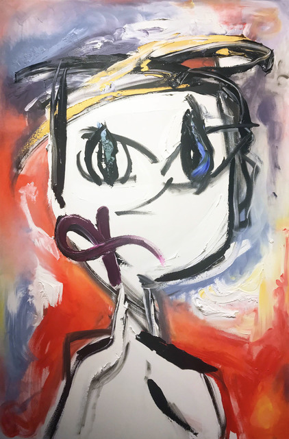 , 'Self-Portrait Super Normal,' ca. 2017, Samuel Lynne Galleries