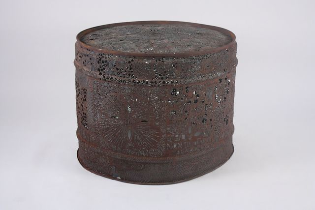 , 'Folk Art Steel Drum Table,' ca. 1960, Emily Summers Design Associates