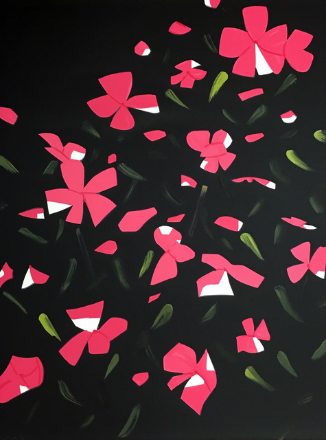 Alex Katz, 'White Impatiens', 2016, Hamilton-Selway Fine Art Gallery Auction