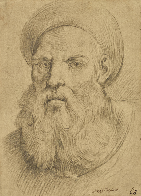 , 'Bearded Man with a Turban Style Hat,' ca. 1612, Didier Aaron