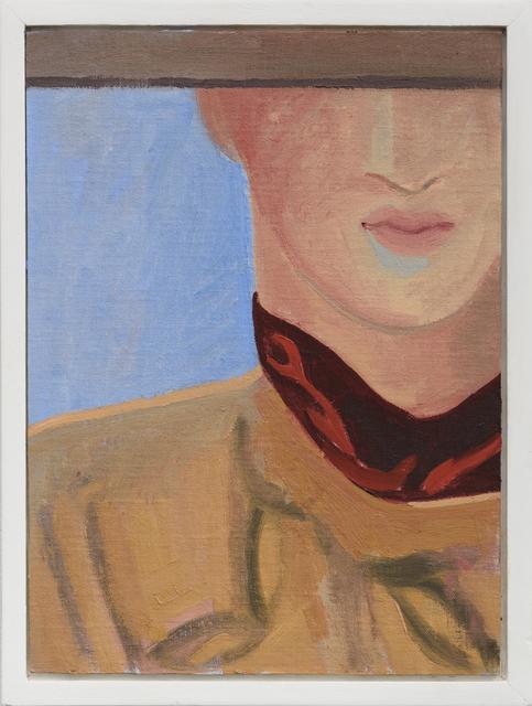, 'Scarf,' 2017, Lora Schlesinger Gallery
