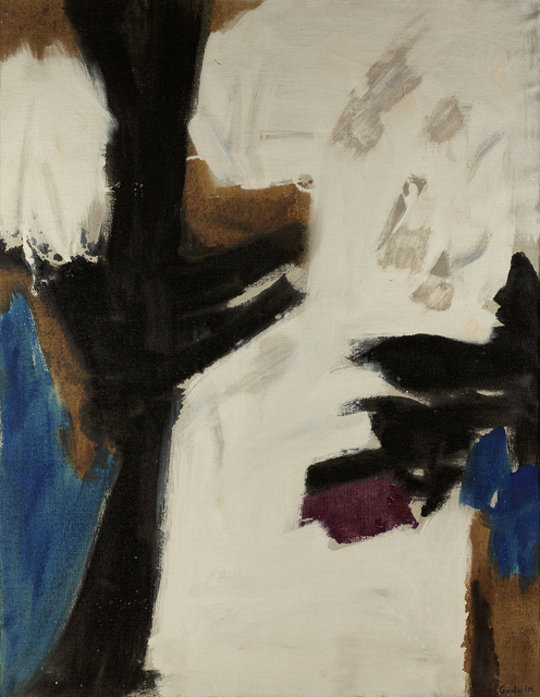, 'Black Pillar,' 1956, Berry Campbell Gallery