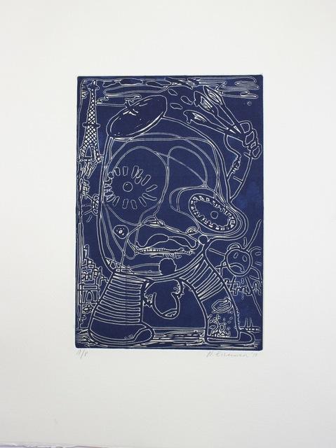 Nicole Eisenman, 'Artist (relief version)', 2010, Jungle Press