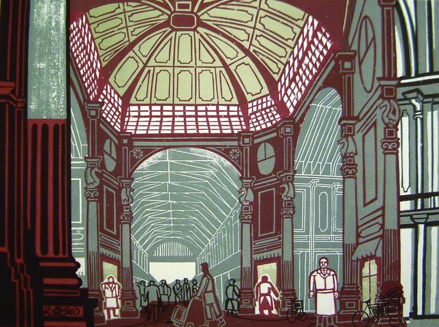 , 'Leadenhall Market,' 1967, Osborne Samuel