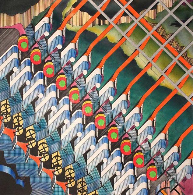 , 'Solar City,' 1981, Gallery Espace