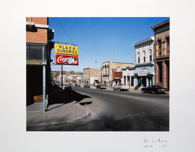, 'Sundries, Las Vegas, New Mexico ,' 1983, Galleria Valeria Bella