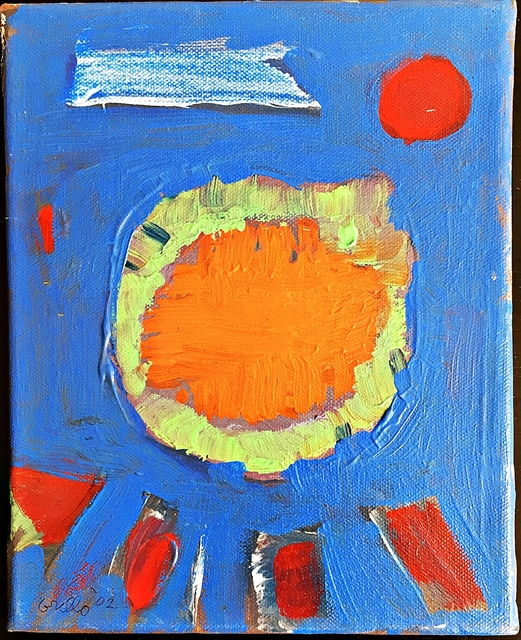 John Grillo, 'Untitled Painting', 2002, Painting, Oil on canvas. Signed twice (recto and verso), Dated. Framed., Alpha 137 Gallery