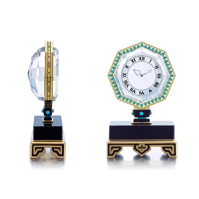 , 'The Gould Mystery Clock: An Art Deco Single Axle Mystery Clock,' circa 1921, Siegelson