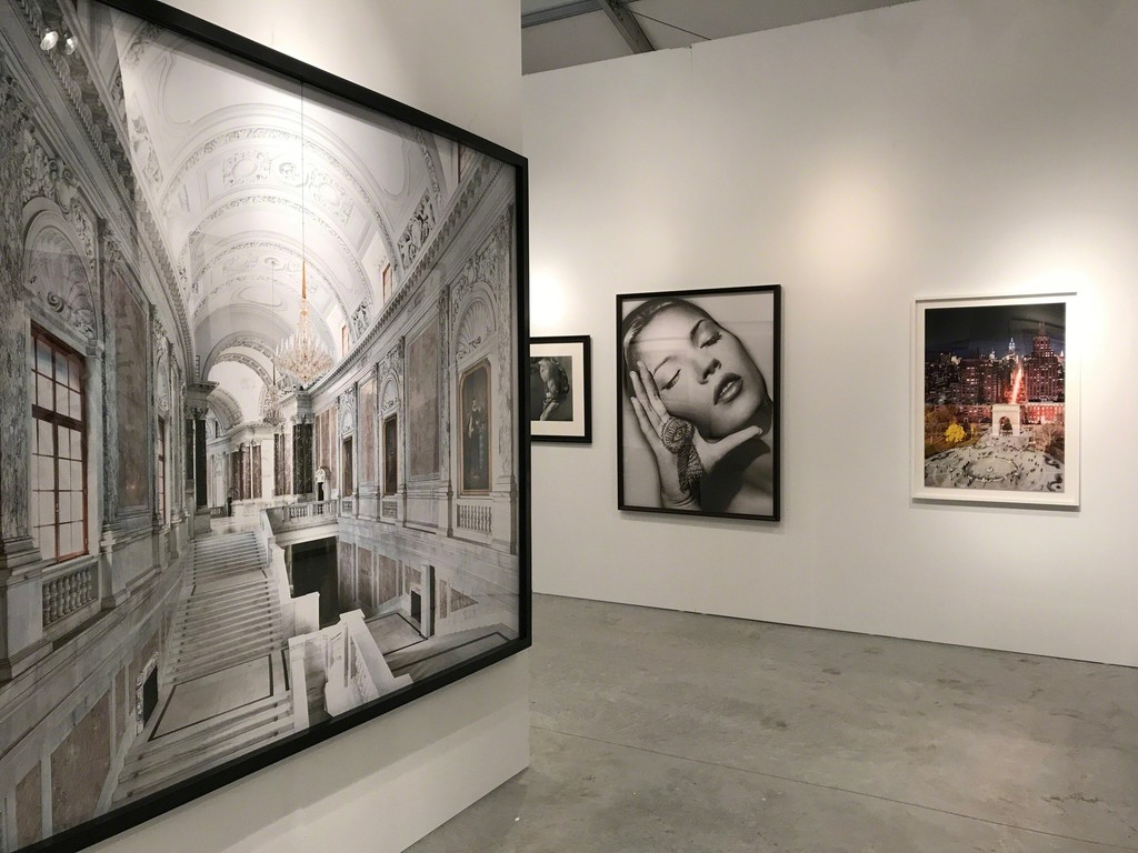 "Massimo Listri's ""Kunsthistorisches Museum I, Vienna"", Herb Ritts' ""Man with Chain, Los Angeles"", Albert Watson's ""Kate Moss, Sun and Henna, Marrakech"", Stephen Wilkes' ""Washington Square Park (Day to Night)"""