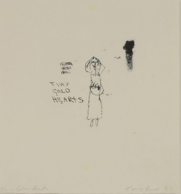 Tracey Emin, 'Tiny Golden Hearts', 2010, Sworders