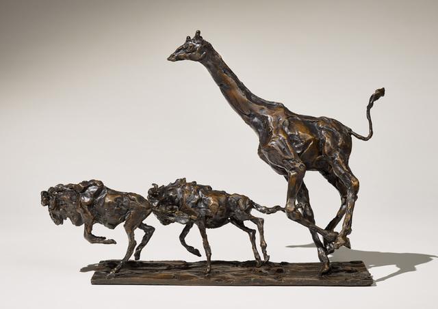 , 'Giraffe and Gnu,' 2017, Sladmore Contemporary