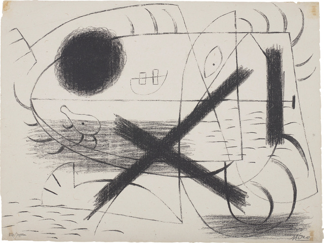 Joan Miró, 'Lithographie 1 (Lithograph I)', 1930, Phillips