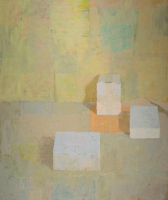 , '3 Cubes,' 2019, Thomas Deans Fine Art