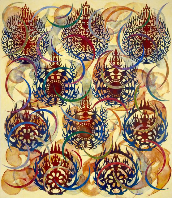 Philip Taaffe, 'Asuka Passage', 2005-2006, Luhring Augustine