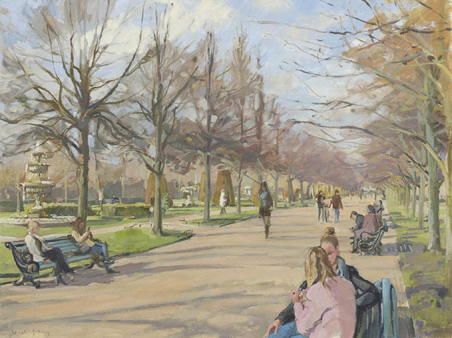 , 'Valentine's Day, The Broad Walk, Regent's Park,' 2017, Portland Gallery