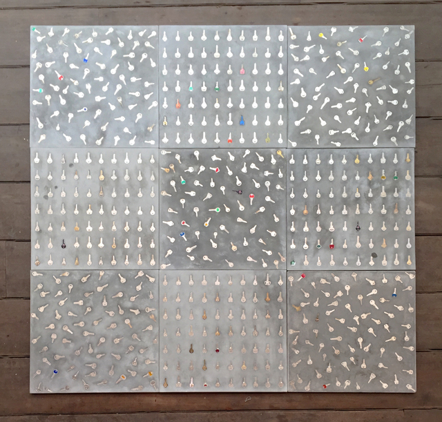 , 'Tic-Tac-Toe (Capacho/Doormat ),' 2016, Galeria Marilia Razuk