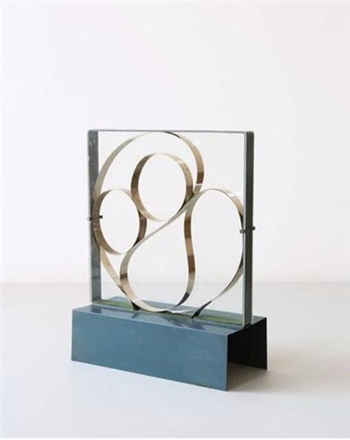 Gianni Colombo, 'Struttura Fluida', 1960, Sculpture, Lacquered metal, steel, glass, motor and mechanism, Attika Fine Arts
