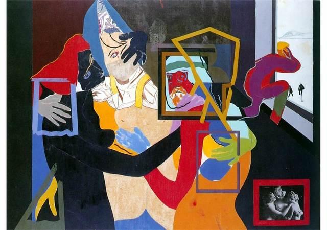 R. B. Kitaj, 'An Early Europe', 1964, Centre for Fine Arts (BOZAR)