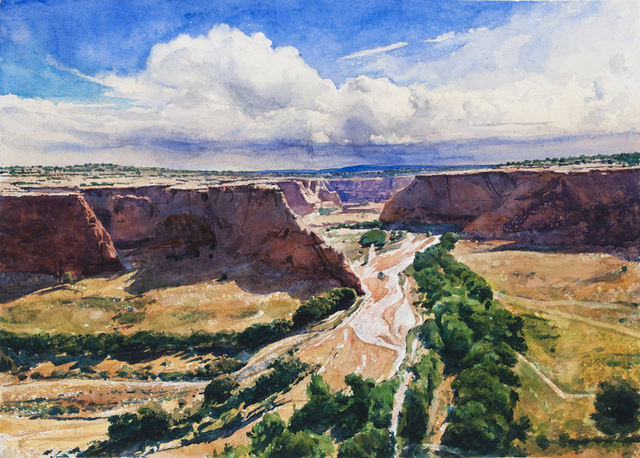 , 'Tsegi Overlook, Canyon de Chelly,' 2016, Valley House Gallery & Sculpture Garden