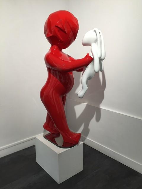 Veronique Guerrieri, 'GRAND BOY & LAPIN BLANC 2/8', Galerie Vivendi