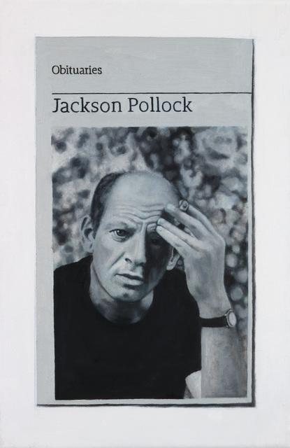 , 'Obituary: Jackson Pollock,' 2017, Charlie Smith London