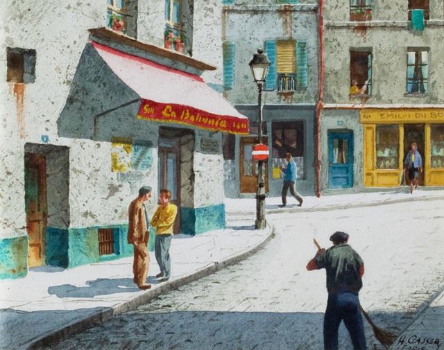 , 'Paris Morning,' , Questroyal Fine Art