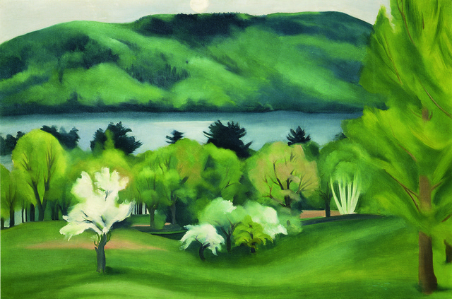 , 'Lake George by Early Moonrise,' 1930, American Federation of Arts