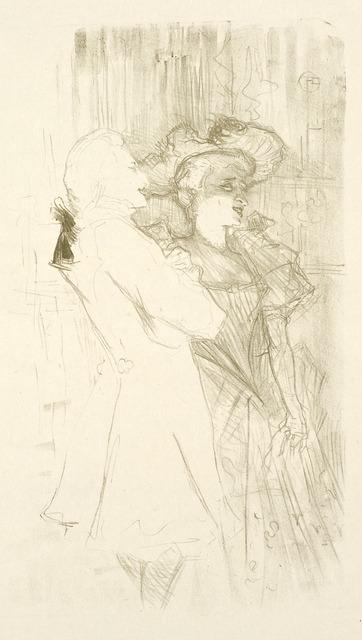 , 'LENDER ET AUGUEZ, DANS LA CHANSON DE FORTUNIO,' 1895, Christopher-Clark Fine Art