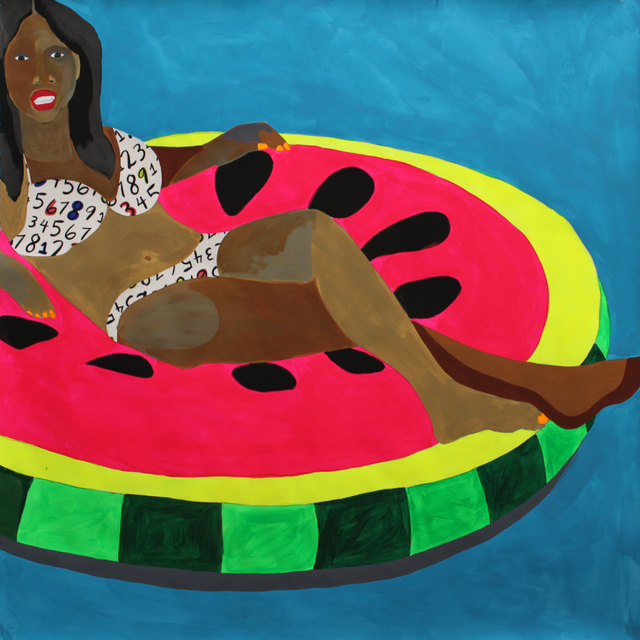 , 'Floater No. 1 (watermelon),' 2016, Project for Empty Space