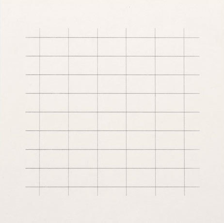 Agnes Martin, 'On a Clear Day #24', 1973, Upsilon Gallery