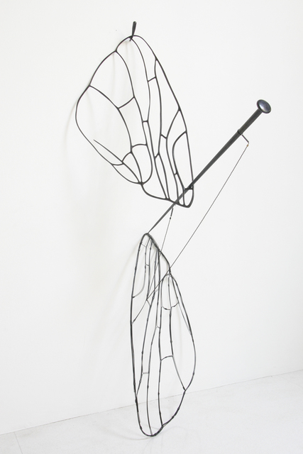 Tunga, 'Dark Wing with Pin', 2007, Luhring Augustine