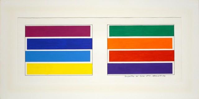 , 'Espectro del color #10,' 1982, Henrique Faria Fine Art