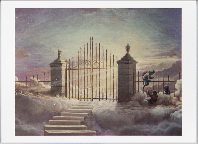Banksy, 'Walled Off Hotel Postcard', 2017, Tate Ward Auctions
