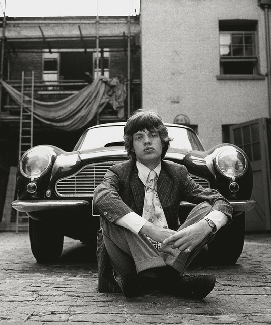 Gered Mankowitz, 'Mick and Aston Martin, 1966', 1966, TASCHEN