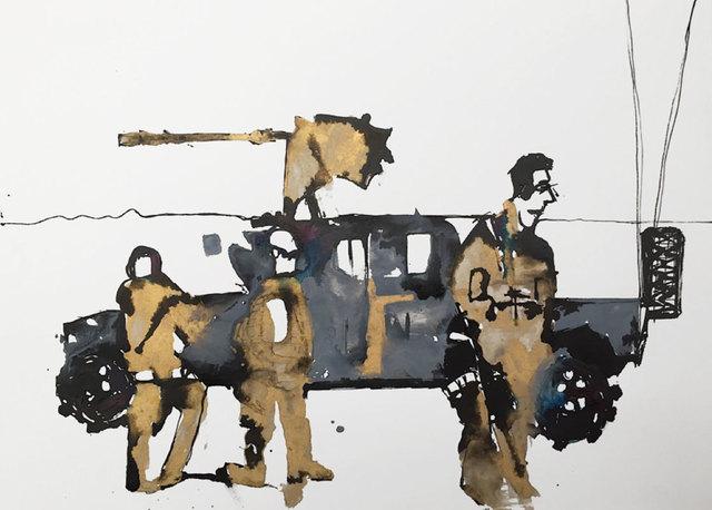 , 'Operational Pause II,' 2017, Dominik Mersch Gallery