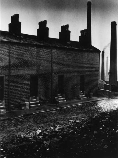 , 'Coal Miners' Houses without Windows to the Street, Northern England,' 1937, Huxley-Parlour
