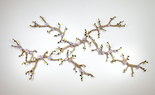 , 'Branching Antlers with Flowers ,' , Callan Contemporary