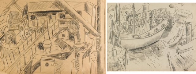 Irene Rice Pereira, 'Two Works of Art: Ship Deck, Venice', Rago/Wright