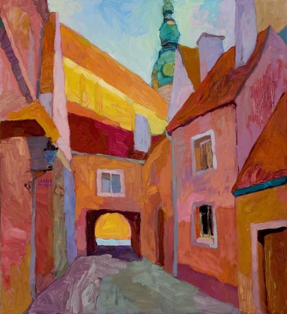 , 'Courtyard Tunes,' 2017, Paul Scott Gallery & galleryrussia.com