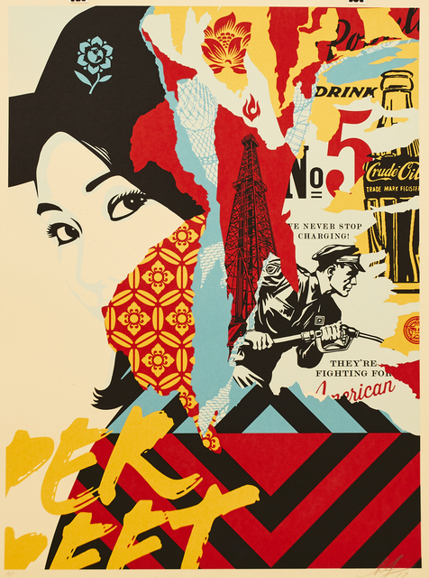 Shepard Fairey (OBEY), 'Drink Crude Oil', 2017, Sping/Break Benefit Auction