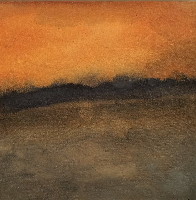 , 'Sunset, Rouffiac,' 2107, Little Buckland Gallery