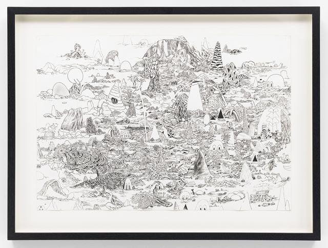 Trenton Doyle Hancock, 'Master Cave Scape I', 2010, James Cohan