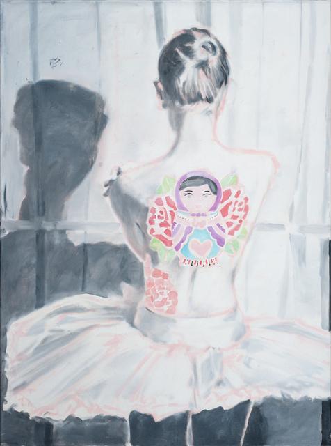 ", '""Tattoo Ballerina"" (Балерина с татуировками),' 2018, Gallery 198"
