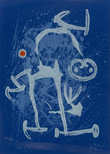 Joan Miró, 'The Illiterate (Blue)', 1969, Heritage Auctions
